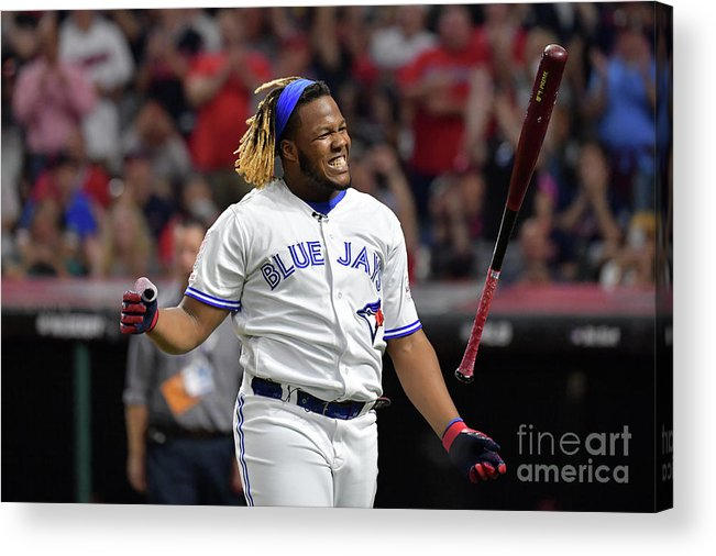 Three Quarter Length Acrylic Print featuring the photograph Vladimir Guerrero by Jason Miller