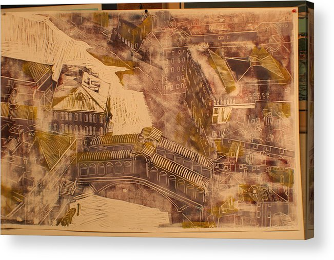 Acrylic Print featuring the print Rialto Bridge by Biagio Civale