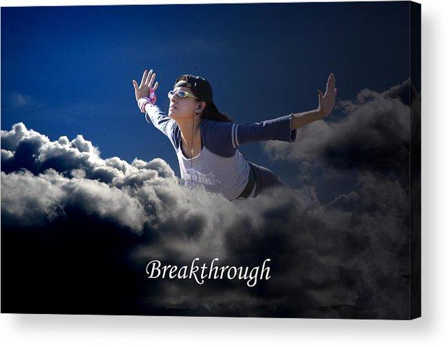 Sky Acrylic Print featuring the photograph Breakthrough by Richard Gordon
