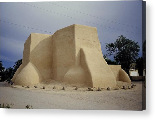 Church Acrylic Print featuring the photograph San Francisco De Taos by Lynard Stroud
