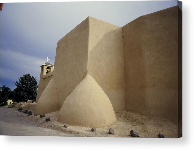 Church Acrylic Print featuring the photograph San Francisco De Taos Two by Lynard Stroud