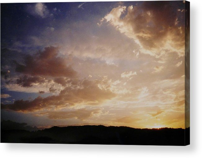 Sunrise Acrylic Print featuring the photograph Golden Sunrise by Jacquelyn Roberts