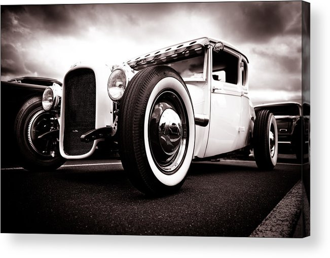 Ford Hotrod Acrylic Print featuring the photograph 1928 A Coupe by Phil 'motography' Clark