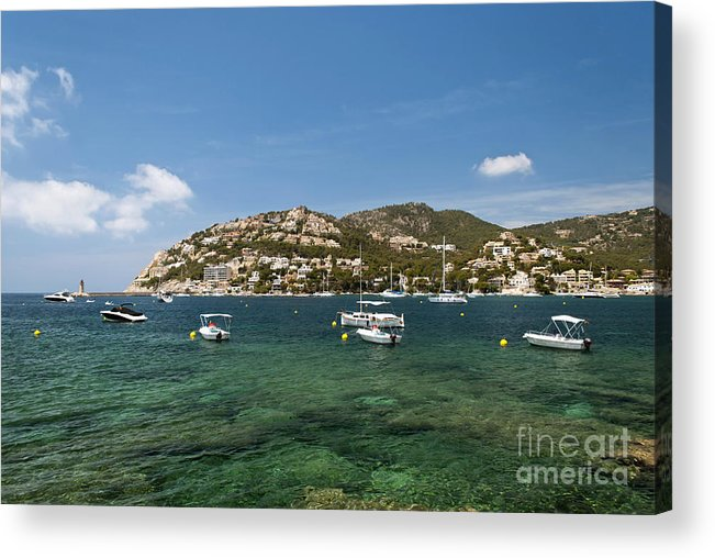 Balearic Acrylic Print featuring the photograph Majorca by Design Windmill