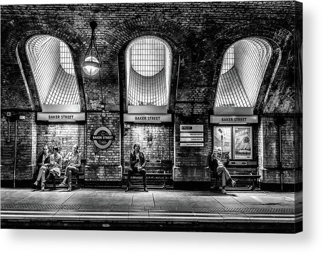 London Acrylic Print featuring the photograph Baker Street by Marc Pelissier