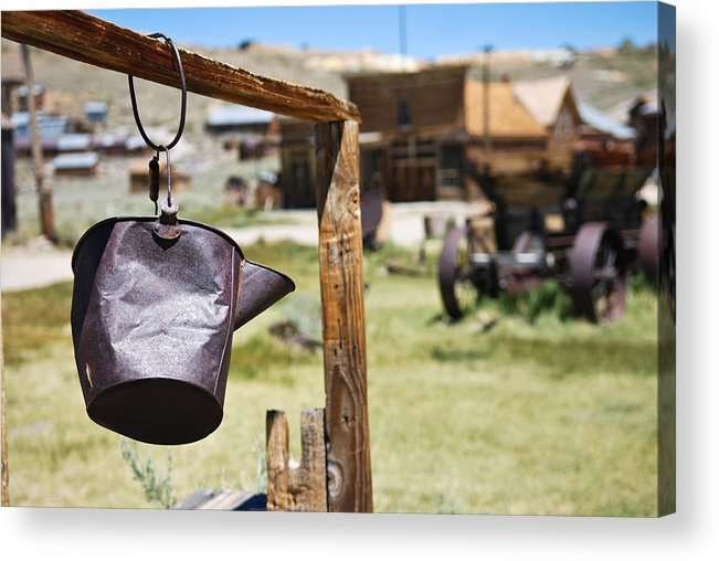 Old West Acrylic Print featuring the photograph Bodie Ghost Town 2 - Old West by Shane Kelly