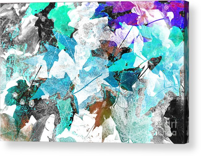 Digital Art Abstract Acrylic Print featuring the digital art Change Is On The Way by Yael VanGruber
