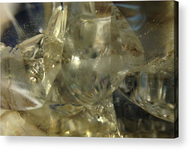 Glass Acrylic Print featuring the photograph Depths Within by Gaby Tench
