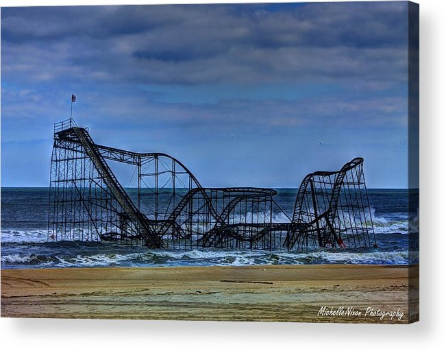 Nj Acrylic Print featuring the photograph Final Farewell by Michelle Nixon