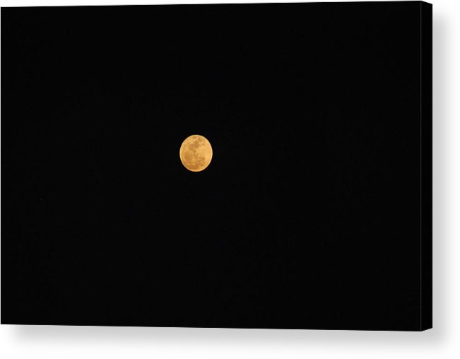 Acrylic Print featuring the photograph Full Moon by Eric Armstrong