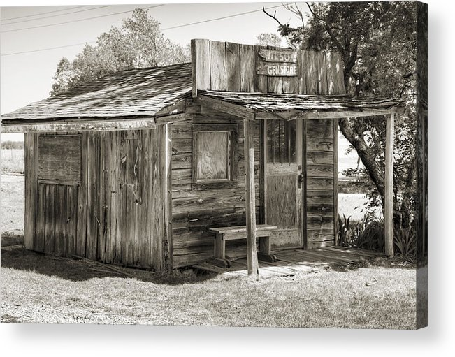 Ingalls Acrylic Print featuring the photograph General Store II by Ricky Barnard