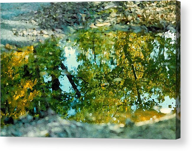Reflection Acrylic Print featuring the photograph Impressionist Reflections by Andy Lawless