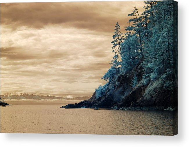 Twilight Acrylic Print featuring the photograph It Would Be by Rebecca Parker