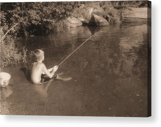 Mayberry Acrylic Print featuring the photograph Mayberry by JC Findley