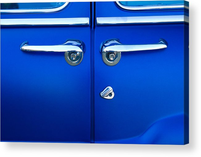 Blue Doors Acrylic Print featuring the photograph Mercury Suicide by Phil 'motography' Clark