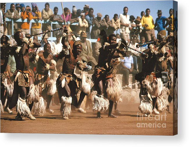 South Africa Acrylic Print featuring the photograph Mine Dancers South Africa by Susan McCartney