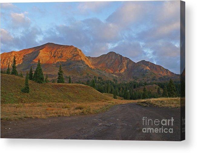 Mount Owen Acrylic Print featuring the photograph Mount Owen Sunrise by Kelly Black