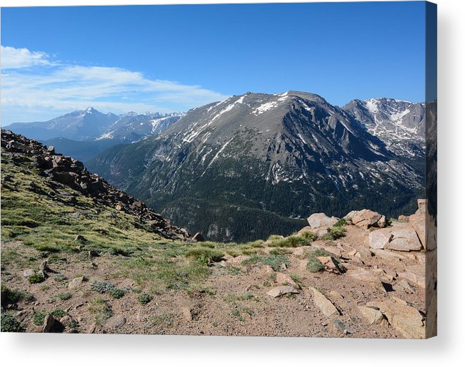 Rocky Acrylic Print featuring the photograph Mountain Beauty by Colleen Coccia