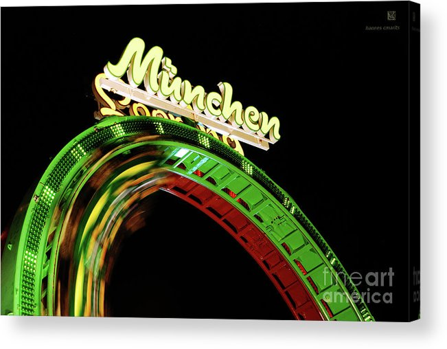 Looping Acrylic Print featuring the photograph Munich Looping by Hannes Cmarits
