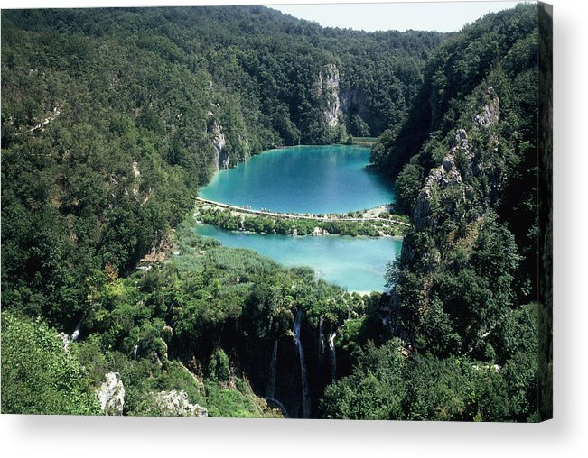 Plitvice Acrylic Print featuring the photograph National Park Plitvice by Dr sc Srecko Bozicevic