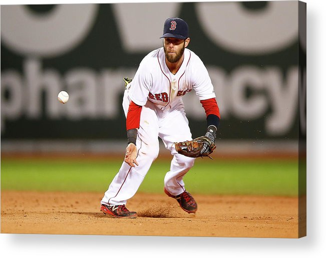 American League Baseball Acrylic Print featuring the photograph New York Yankees V Boston Red Sox by Jared Wickerham