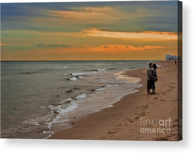 Florida Acrylic Print featuring the photograph Oblivious by Barbara McMahon