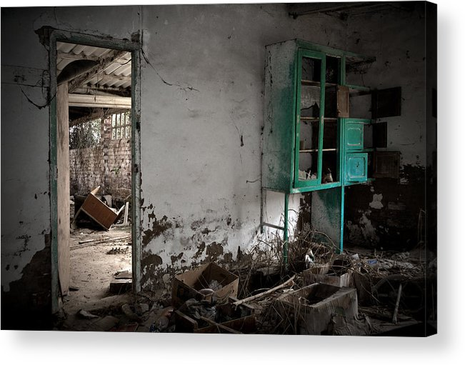 Old Acrylic Print featuring the photograph Old Abandoned Kitchen by RicardMN Photography