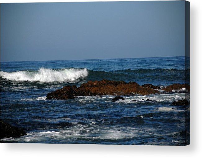 Seascapes Acrylic Print featuring the photograph Sc11 by Thomas Medaris