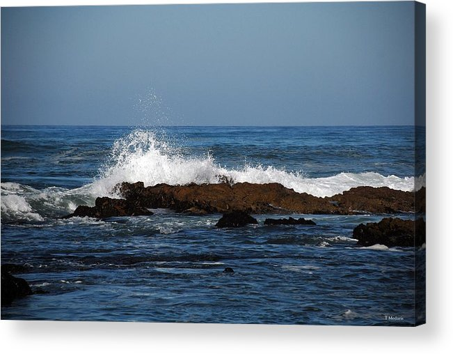 Seascapes Acrylic Print featuring the photograph Sc13 by Thomas Medaris