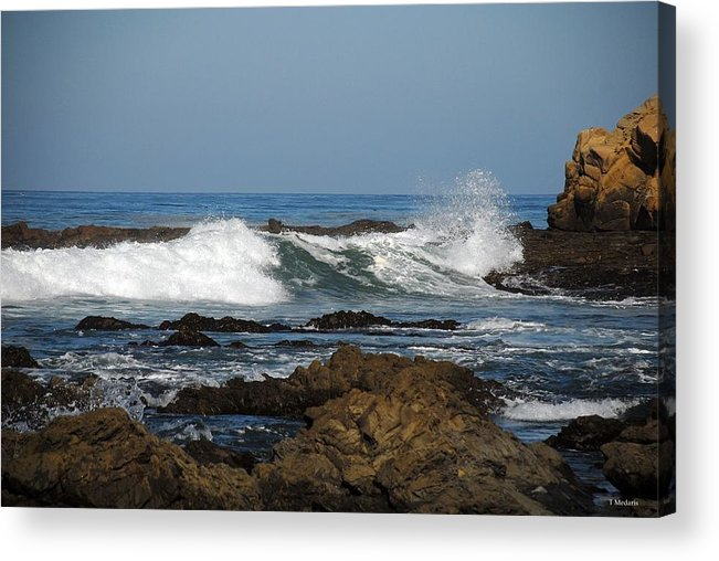 Seascapes Acrylic Print featuring the photograph Sc14 by Thomas Medaris