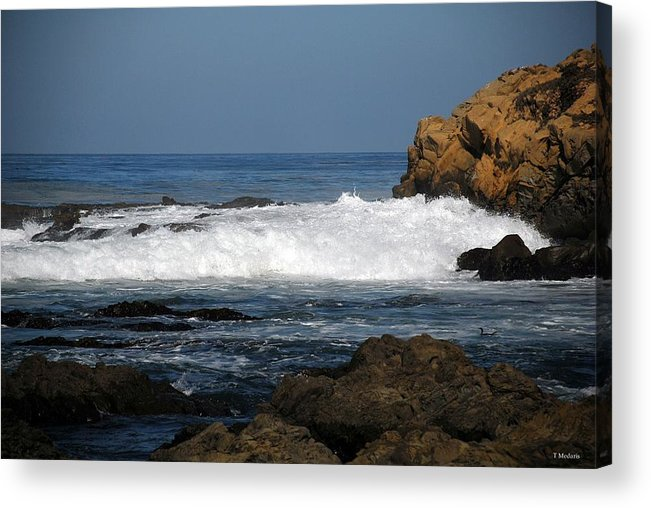 Seascapes Acrylic Print featuring the photograph SC6 by Thomas Medaris