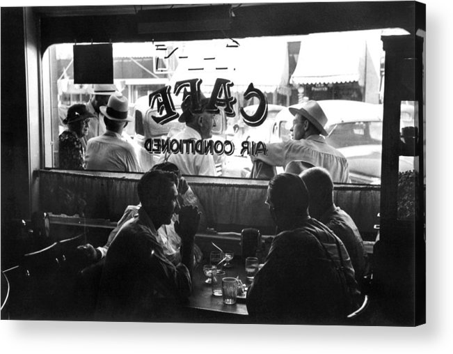 1941 Acrylic Print featuring the photograph Small Town Cafe, 1941 by Granger