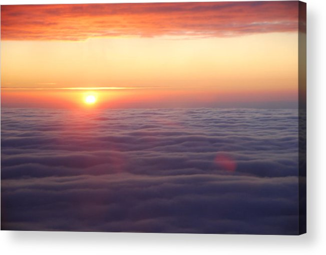Acrylic Print featuring the photograph Sunset 2 by Eric Armstrong