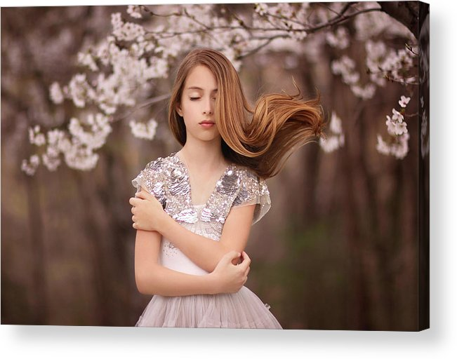 Spring Acrylic Print featuring the photograph Swoosh by Katie Andelman