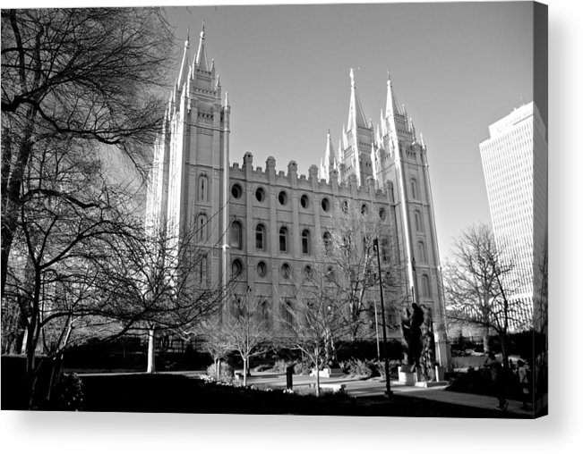 Temple Acrylic Print featuring the photograph The Lord's House by Eric Tressler