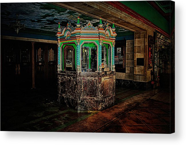 Theatre Acrylic Print featuring the photograph The Majestic At San Antonio by Tricia Marchlik