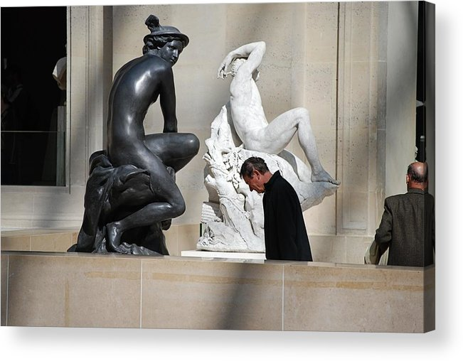 Visitor Acrylic Print featuring the photograph Thinking Clearly by Francois Cartier