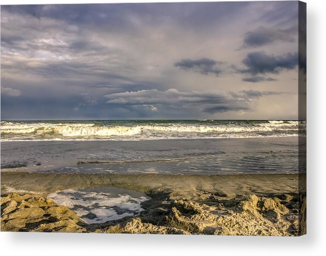 America Acrylic Print featuring the photograph Tidal Pool by Rob Sellers