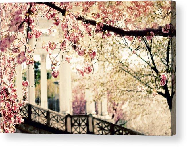 Untermyer Garden Acrylic Print featuring the photograph Grecian Garden by Jessica Jenney