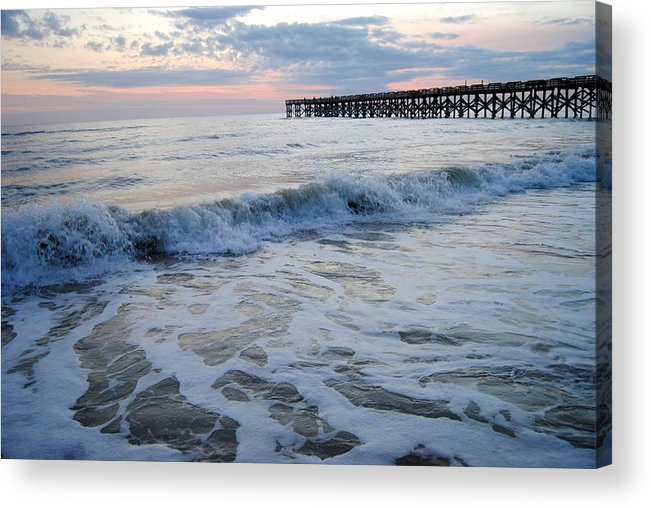 Florida Acrylic Print featuring the photograph Waves Rolling In by Madison Armstrong