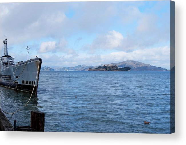 San Francisco Acrylic Print featuring the photograph Welcome To The Rock by JAMART Photography