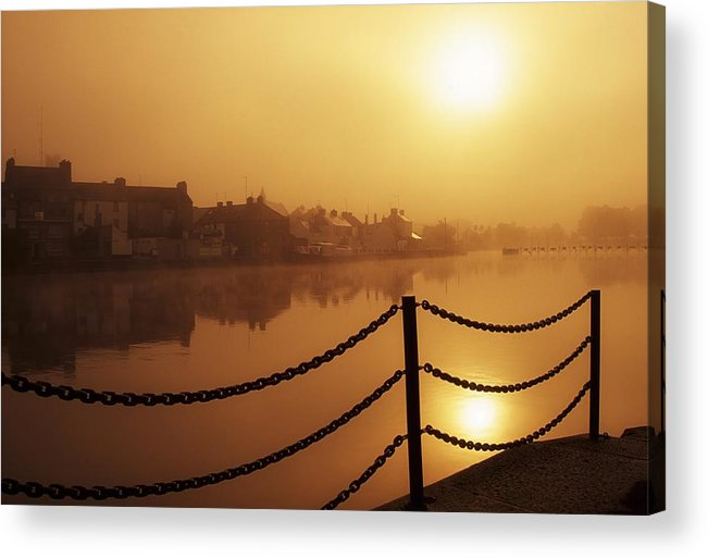 Attraction Acrylic Print featuring the photograph Athlone, County Westmeath, Ireland Dock by Richard Cummins