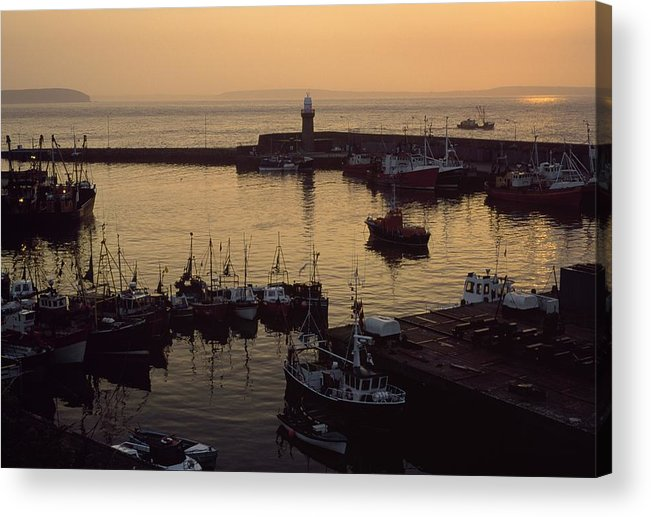 Outdoors Acrylic Print featuring the photograph Dunmore East, Co Waterford, Ireland by The Irish Image Collection