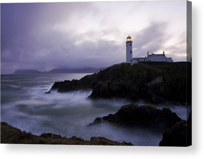 Beacon Acrylic Print featuring the photograph Fanad Head, County Donegal, Ireland by Peter McCabe