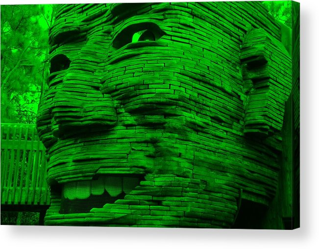 Architecture Acrylic Print featuring the photograph Gentle Giant by Rob Hans