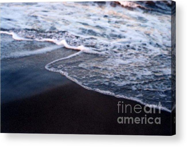 Ocean Acrylic Print featuring the photograph Into The Blue by Vicki Lynn Sodora