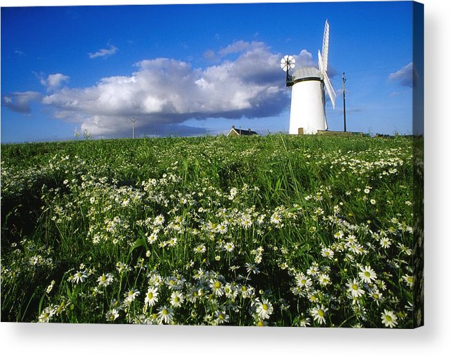 Architecture Acrylic Print featuring the photograph Millisle, County Down, Ireland by Richard Cummins
