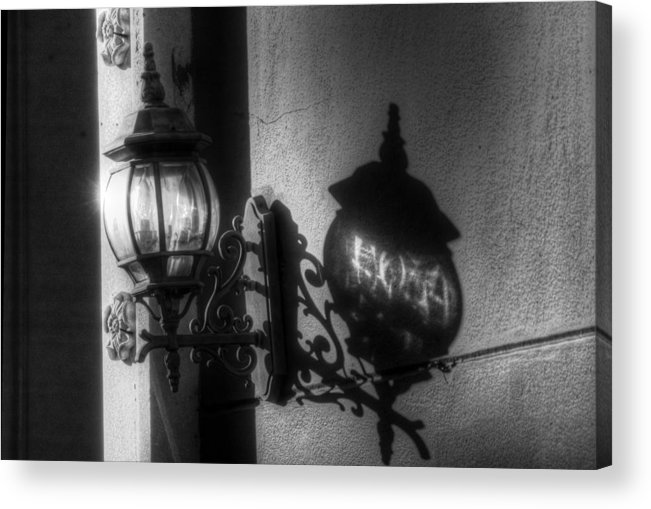 Light Acrylic Print featuring the photograph The Light Shadow by Greg and Chrystal Mimbs