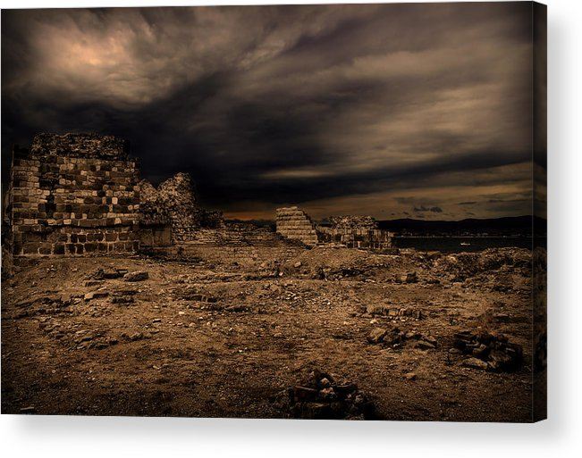 Storm Acrylic Print featuring the photograph Upcoming Storm by Radoslav Nedelchev