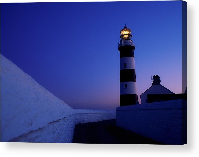 Architecture Acrylic Print featuring the photograph Old Head Of Kinsale, County Cork by Richard Cummins